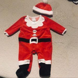 Carter's Matching Sets - Santa Baby 5 Piece Bundle, Newborn - 3 Mos. 🎅 👶